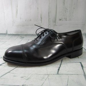 Florsheim Men's Oxford Cap Toe Leather Black Dress